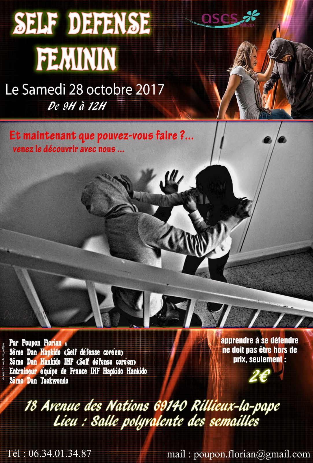 Affiche sdf 28 octobre 2017