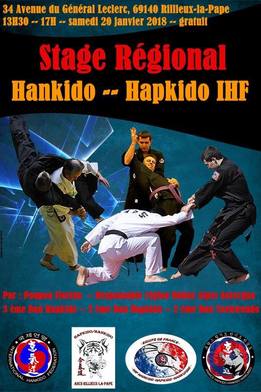 Stage hapki affiche 1